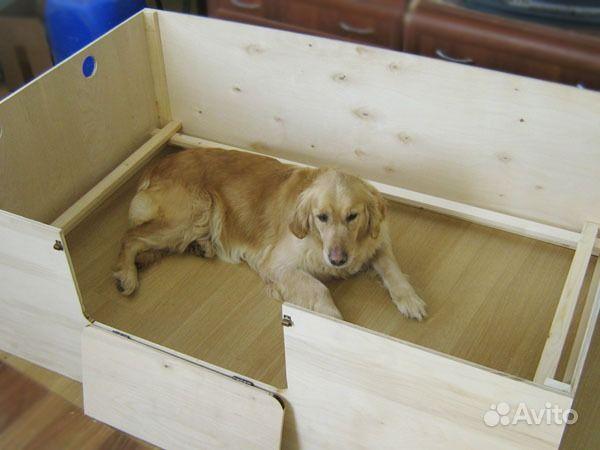 Как сделать дом для щенков