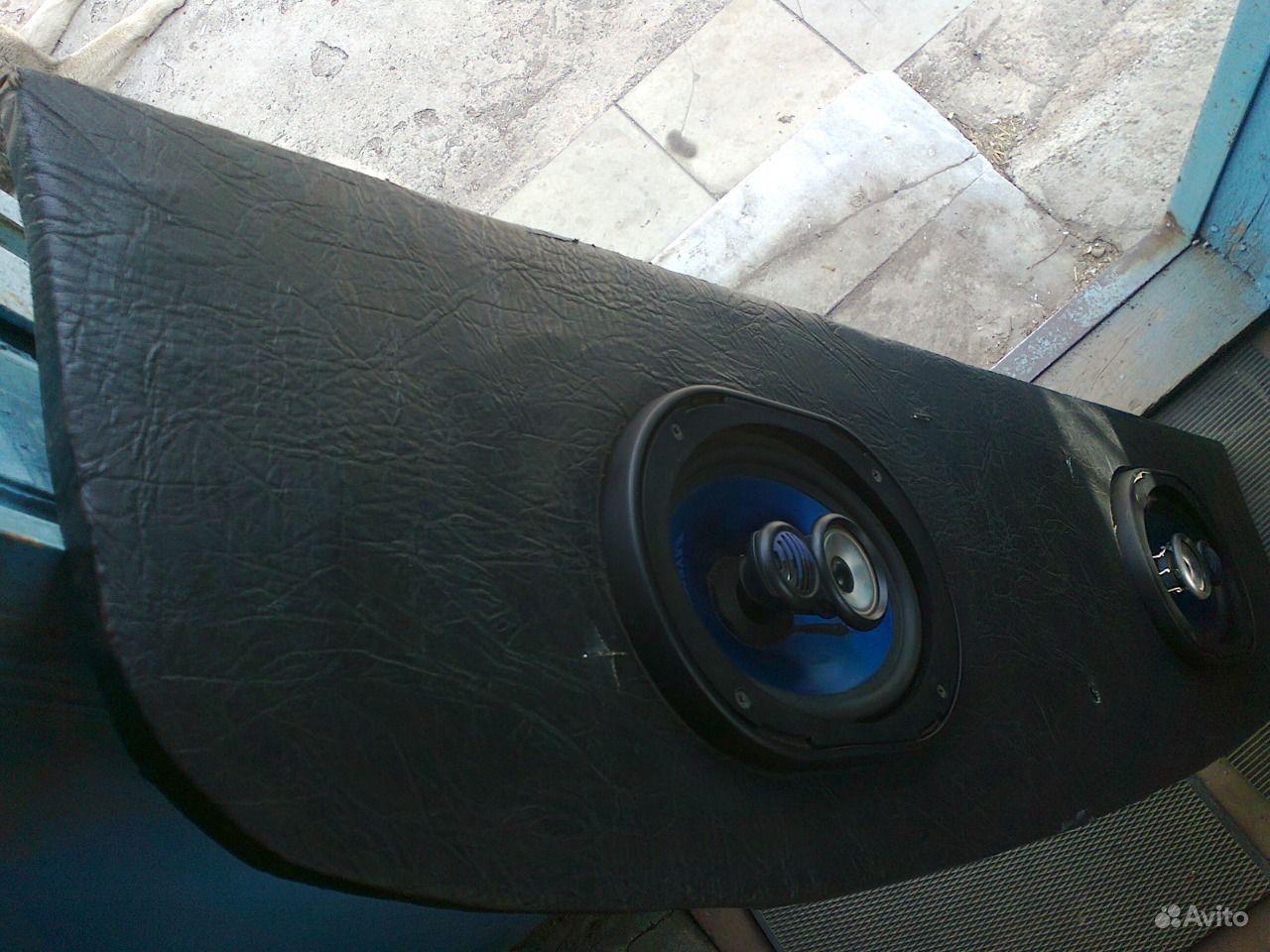 Как сделать акустическую полку на ваз 2107