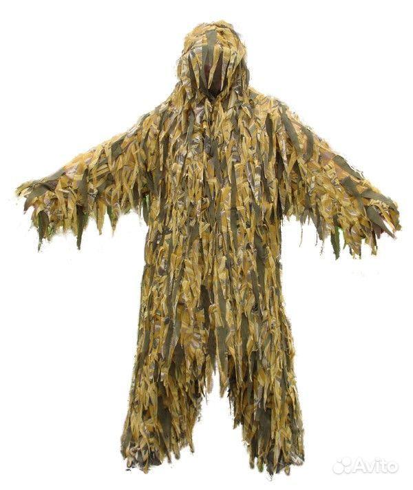 Маскировочный костюм своими руками