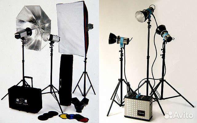 Освещение при студийной фотосъемке