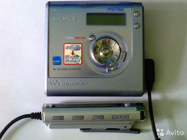 Sony MZ NHF800 - проигрыватель