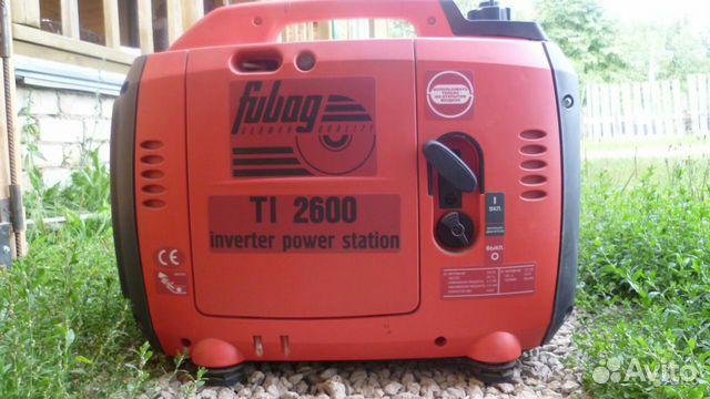 Бензиновый генератор fubag ti 2600 fubag