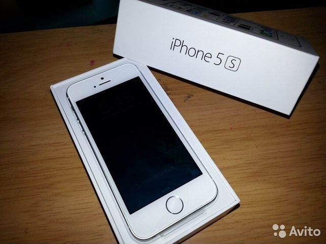 Смартфон Apple iPhone 5s 16GB Silver - Интернет
