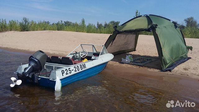 купить лодку крым с мотором ямаха 40