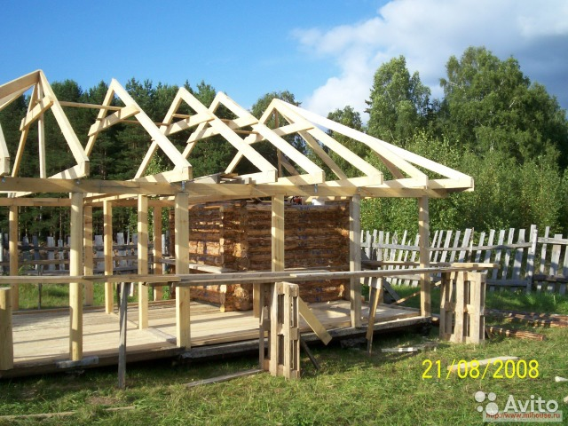 Как построить крыша бани своими руками