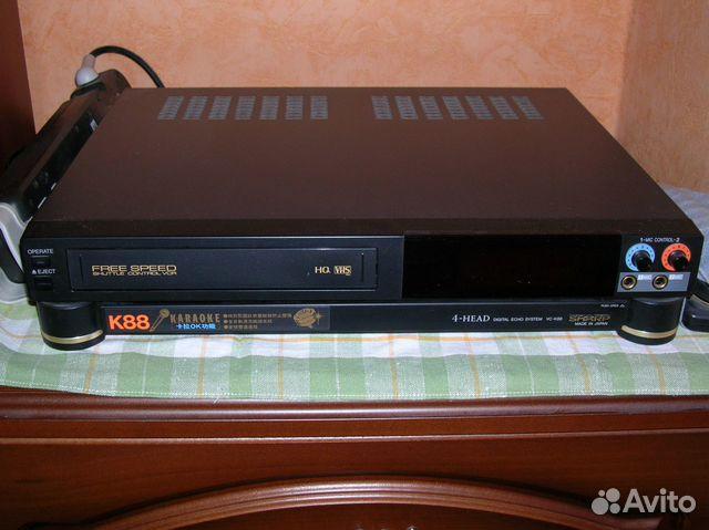 Видеомагнитофон VHS sharp VC-