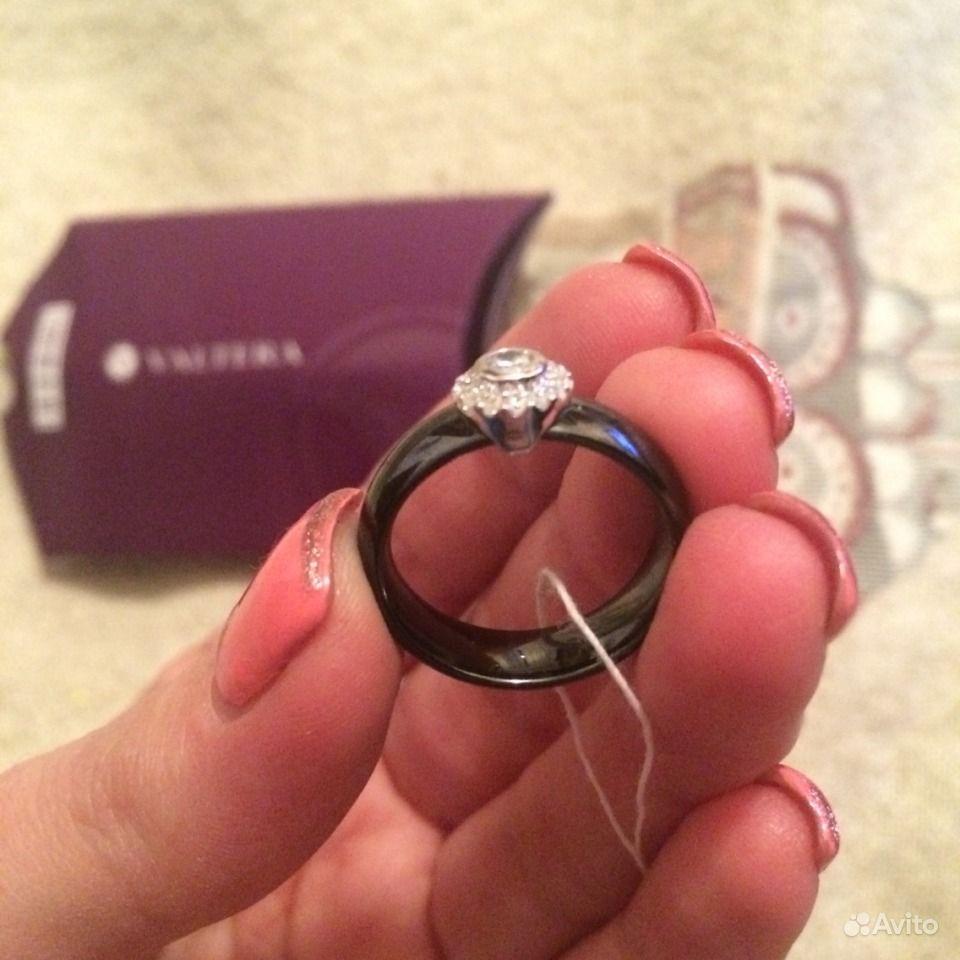 кольца керамика с серебром