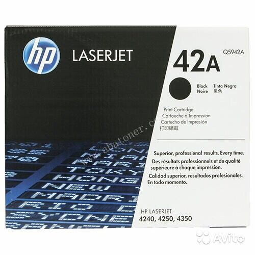 Картридж HP 42A Black Original LaserJet