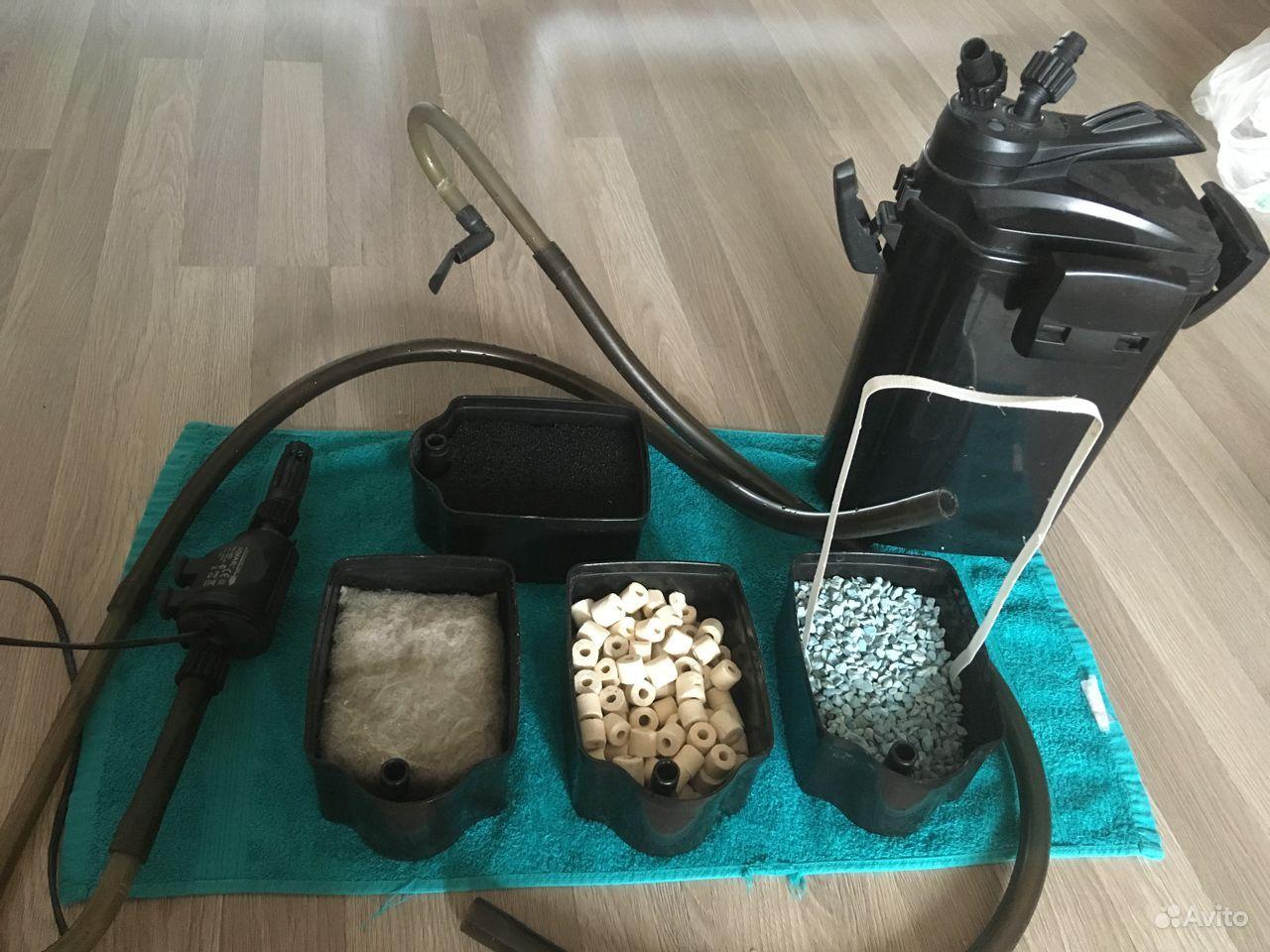 Фильтры для аквариума и обогреватель купить на Зозу.ру - фотография № 1