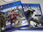 FarCry 4, Watch dogs для PS4