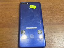 Телефон Huawei y6 Prime 2018 синий
