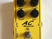Xotic AC booster (overdrive)