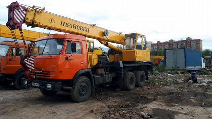 Автокран ивановец 16 т - 18м