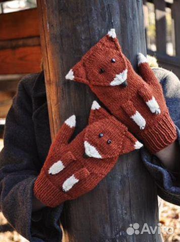 вязаные варежки митенки перчатки купить в санкт петербурге на