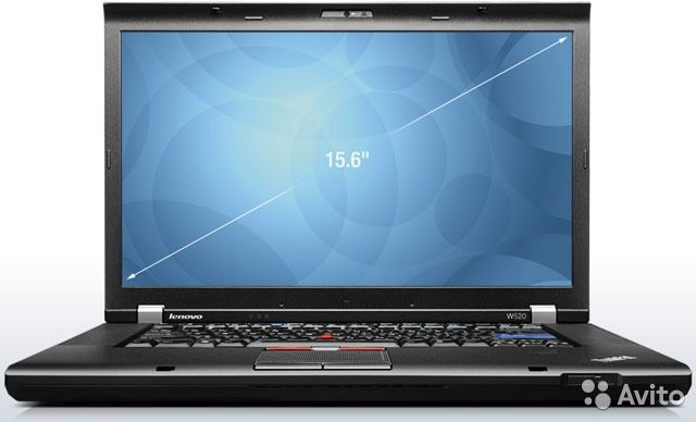 Lenovo ThinkPad W520 core i7 QM Full-HD DreamColor— фотография №1