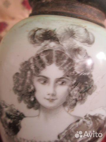 Ваза 19 век стекло