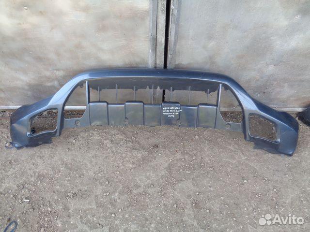 Юбка переднего бампера хонда срв