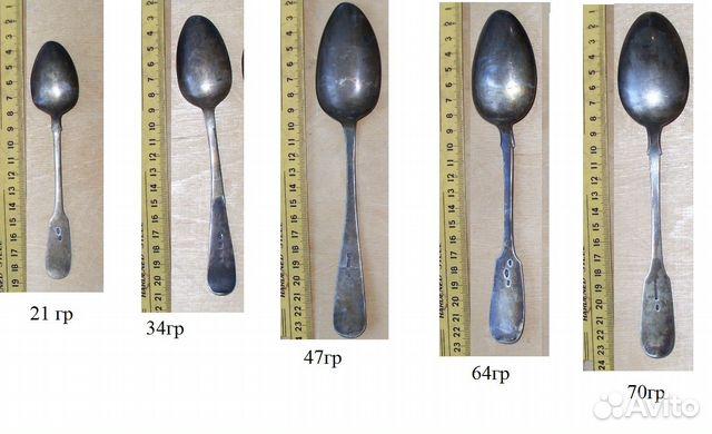 старинные серебряные ложки цена фото