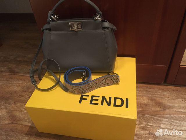 Сумки и клатчи Fendi в интернет - магазине MSK97ru