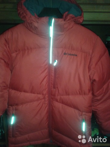 013423529b49 Куртка-пуховик Colambia 14-16 лет (L) купить в Москве на Avito ...