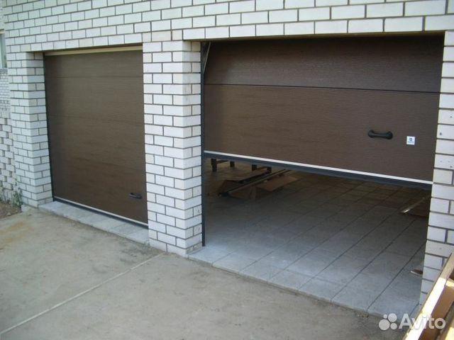 ворота рольставни спб для гаража