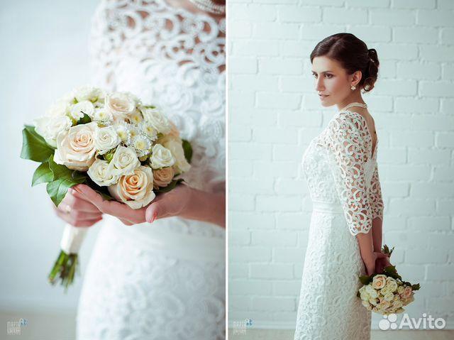 Купить свадебное платье на авито в твери