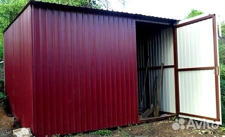 Металлические сараи и гаражи продам металлический гараж на вывоз самара