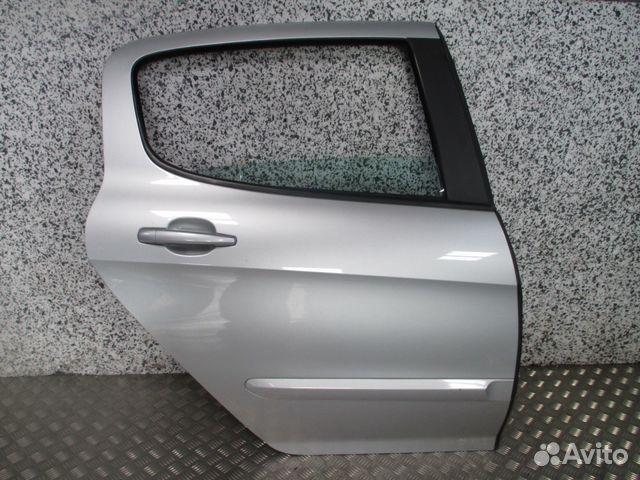 дверь задняя правая левая peugeot 308