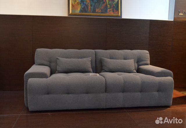 мягкий диван боннучи прямой двойной купить в санкт петербурге на