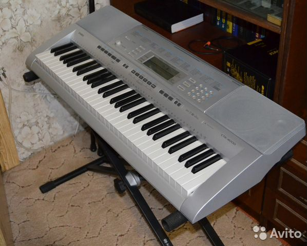 Синтезатор CASIO CTK-4400, 61 клавиша: купить дешево