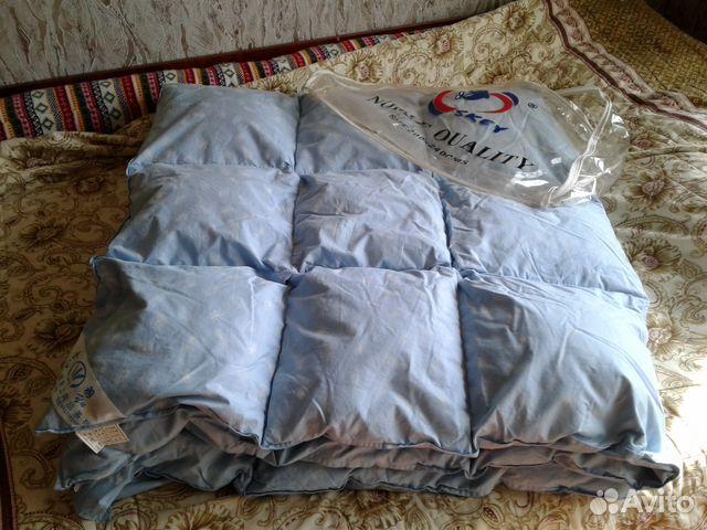 Одеяла из натурального лебяжьева пуха