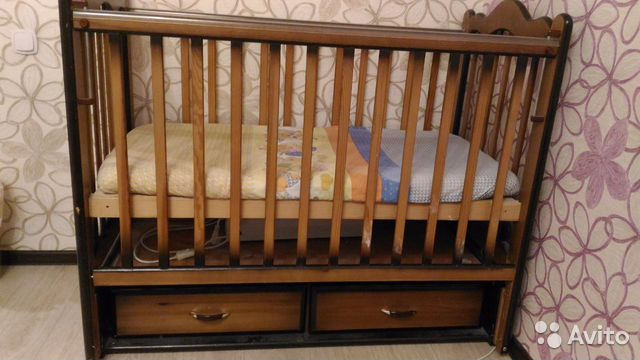 Децкая кроватка г курск бу с матрасом двуспальные матрасы отзывы