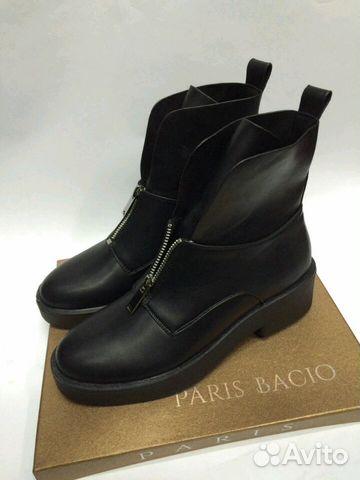 bdebed8d81bb Ботинки осенние Paris Bacio женские (36-40) черные