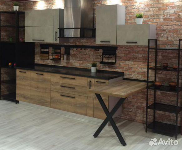 кухня век в стиле лофт модульная купить в краснодарском крае на