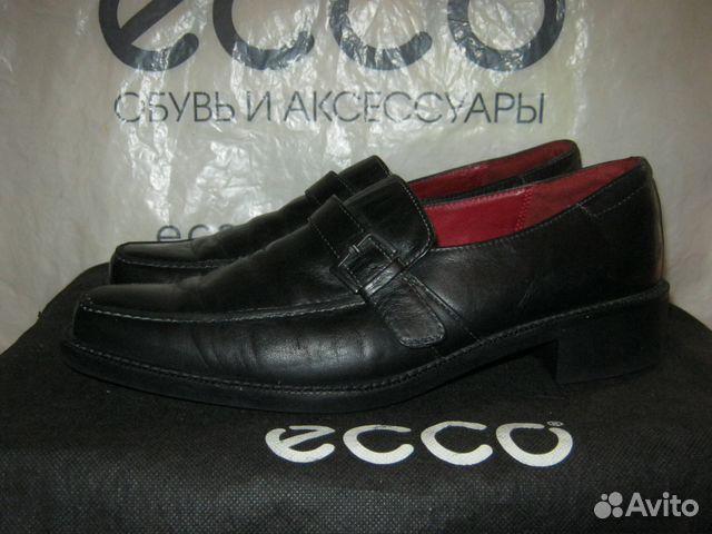 404279eae Ecco туфли лоферы кожаные 40 купить в Санкт-Петербурге на Avito ...