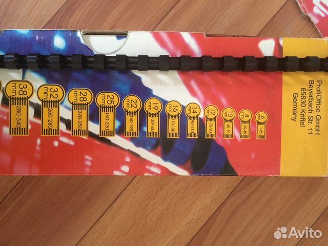 Пружины пластиковые 6, 10, 16 мм