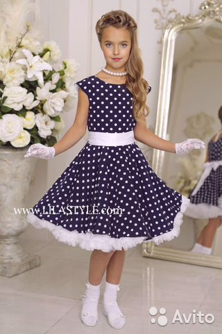 1617e163ee9 Платье Стиляги для девочек 7-14 лет