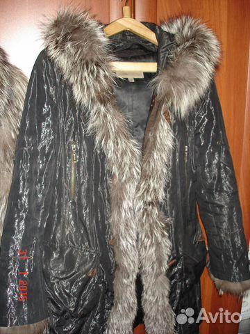 Куртка (женская парка с натуральным мехом) 89053064306 купить 4