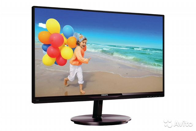 "23"" ЖК-Монитор Philips (IPS, LED, DVI/VGA)"