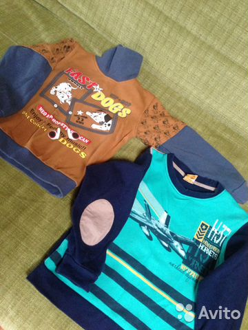 9391033360ba6b2 Толстовка Водолазка и плотная футболка с длинным р | Festima.Ru ...