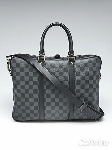 d7534c947cac Портфель Louis Vuitton Porte Documents Graphite   Festima.Ru ...