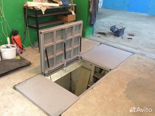 41839ebf76e Напольные люки больших размеров в гараж подвал