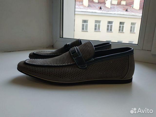 429176c34 43-р Мужские летние туфли Quattrocomforto купить в Санкт-Петербурге ...