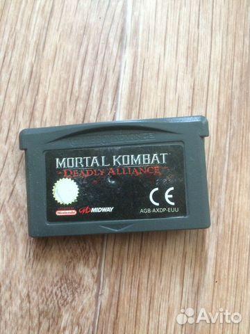 Mortal Kombat - Deadly Alliance, Gameboy Advance купить в