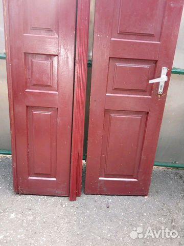 Дверь двухстворчатая купить 1
