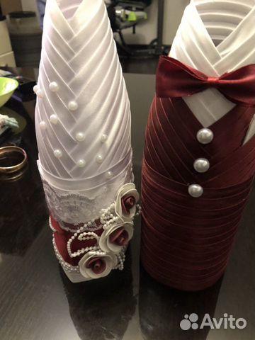 Продам свадебные костюмы на бутылки