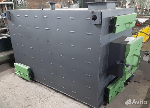 Котел твердотопливный на дровах 150 кВт GRV