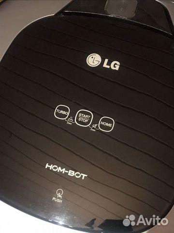 Пылесос LG VRF4041LS