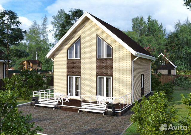 Коттедж 120 м² на участке 10 сот. 88002226041 купить 1