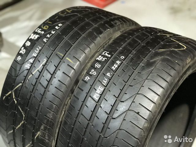 89380001718 265/40/20 Pirelli P Zero (5.5 mm) - 2 шт